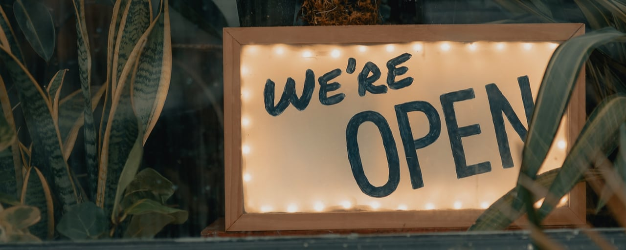 Yes, we're <span>OPEN</span>